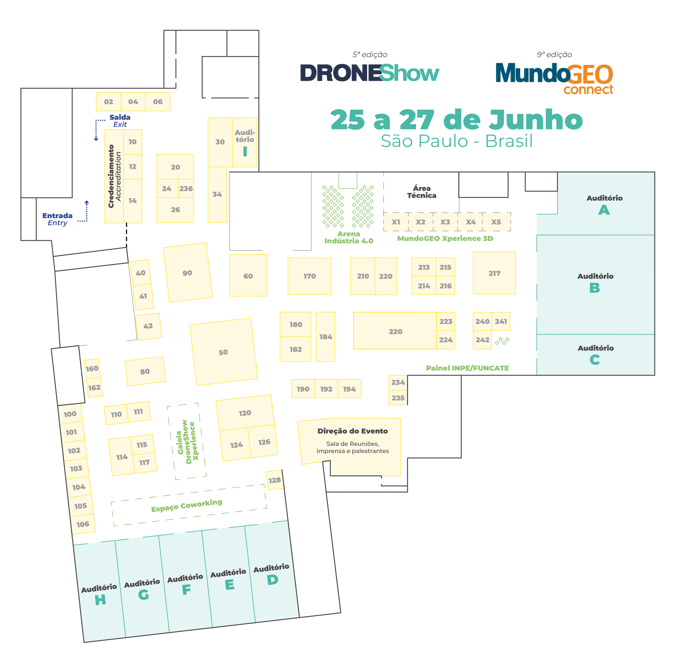 2019 Allcomp confirmada na feira MundoGEO Connect e DroneShow 2019