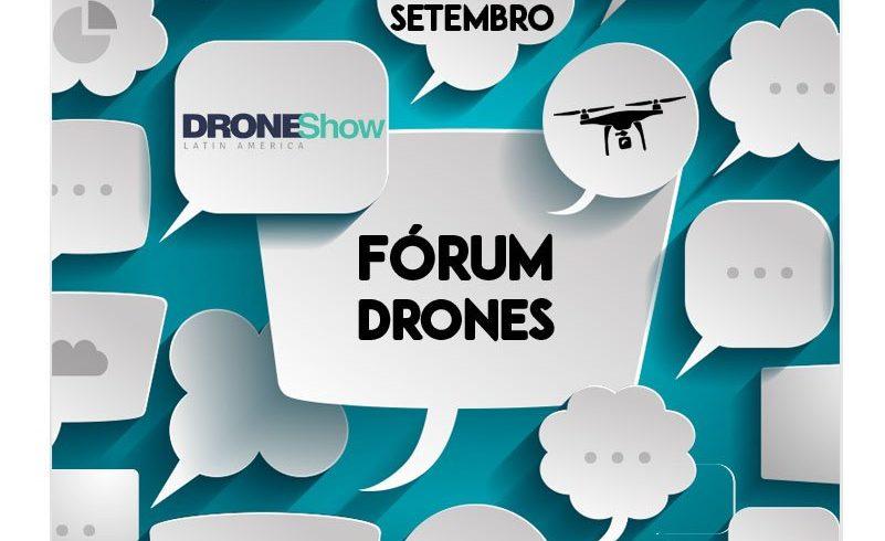 Segunda edição do Fórum Empresarial de Drones acontece em setembro