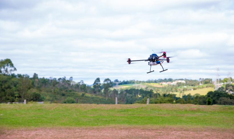 Futuriste se prepara para demonstrar seus serviços e treinamentos com Drones