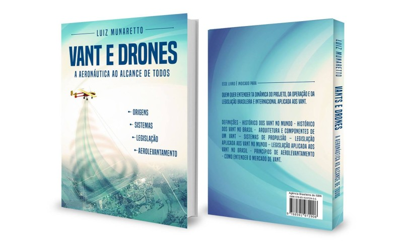 MundoGEO distribui primeiro livro sobre VANT escrito no Brasil