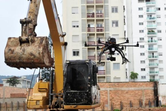 Monitoramento de obras na construção civil já pode ser feito com drones