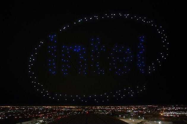 Drones da Intel iluminam show da Lady Gaga durante intervalo do Super Bowl