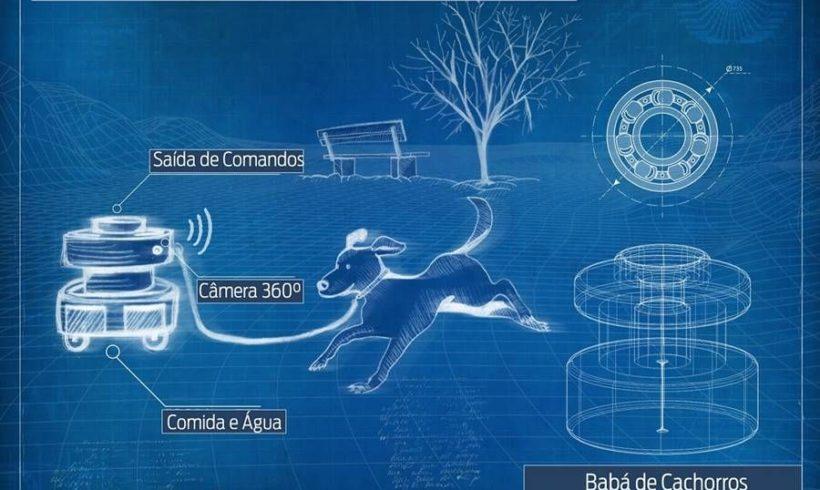 Ford cria drones-conceito: guia de cegos, primeiros socorros, guarda-chuva e babá de cachorros