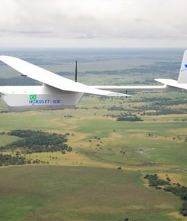 Empresa brasileira inicia exportação de drones