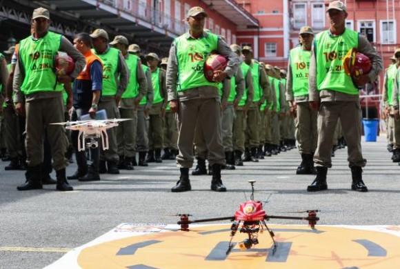 Defesa Civil planeja ampliar o uso de drones no Rio de Janeiro