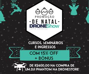 Promoção de Natal: atividades do DroneShow com desconto e bônus