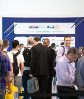 Alezi Teodolini confirmada na feira DroneShow e MundoGEO Connect 2021