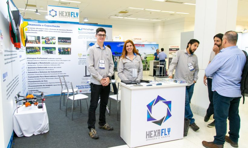 Hexafly confirmada na feira DroneShow e MundoGEO Connect 2021