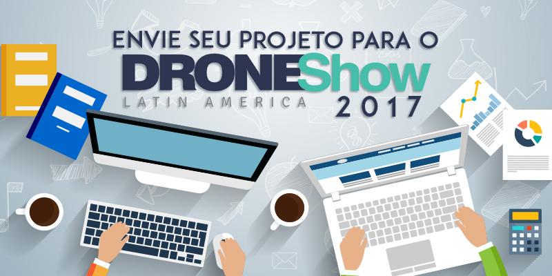 DroneShow 2017 abre chamada de trabalhos para grade e prêmio