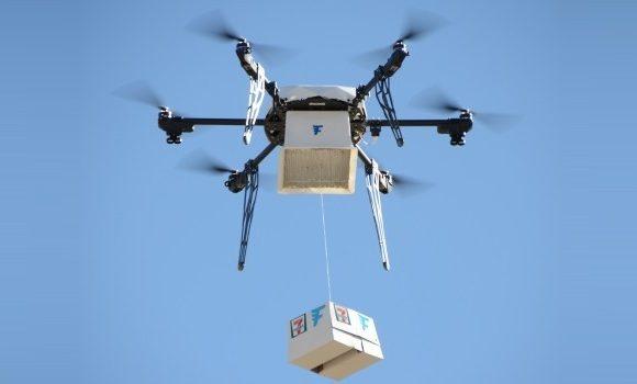 7-Eleven realiza primeiro serviço de entrega usando drone totalmente autônomo