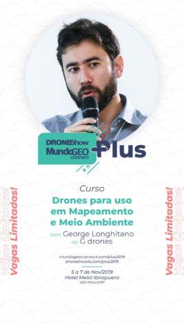 Curso Avançado Drones para uso em Mapeamento e Meio Ambiente - stories