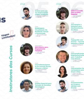 Novos cursos práticos e avançados de Geo e Drones: novembro em São Paulo