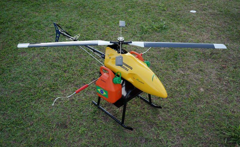 XMobots e Geo Agri lançam Drones para pulverização de lavouras