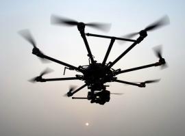 Pesquisadores usam drone para examinar poluição do Rio dos Sinos