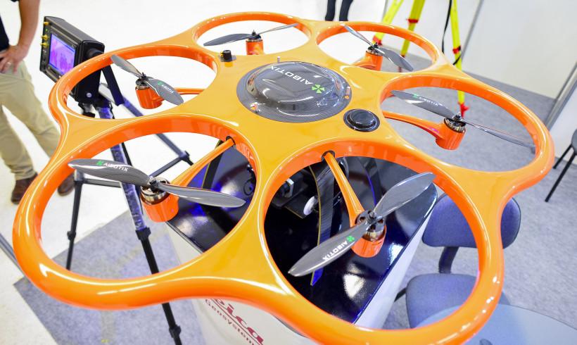Curitiba sedia o evento DroneShow