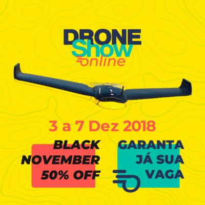 DroneShow Online Instagram Imagem Post 50off 400x400 Lanzamiento: DroneShow Online será realizado en diciembre