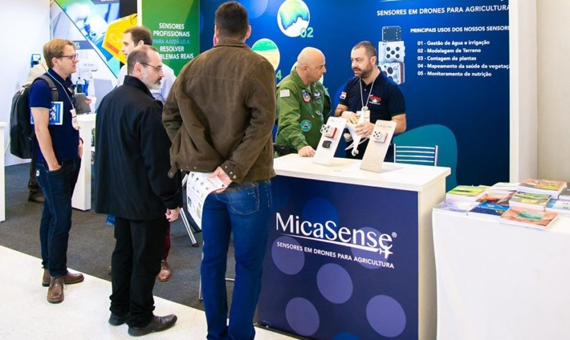 MicaSense confirmada na feira DroneShow e MundoGEO Connect 2021