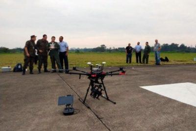 FAB testa uso de drones para inspeção em voo