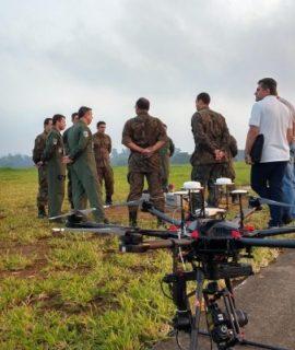 Força Aérea Brasileira testa uso de drones para inspeção em voo