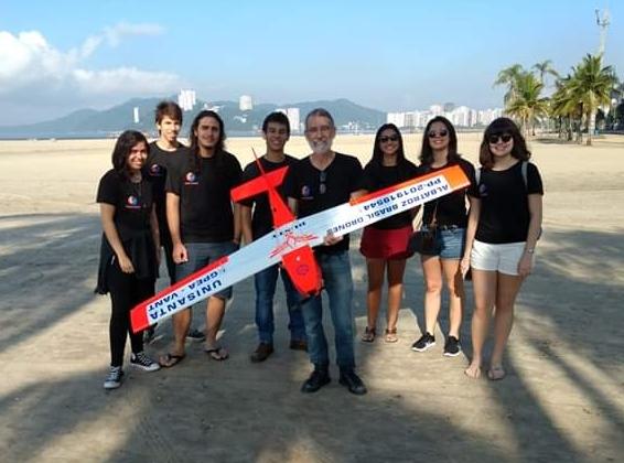 Grupo de Pesquisa em Engenharia testa Drone construído na Unisanta