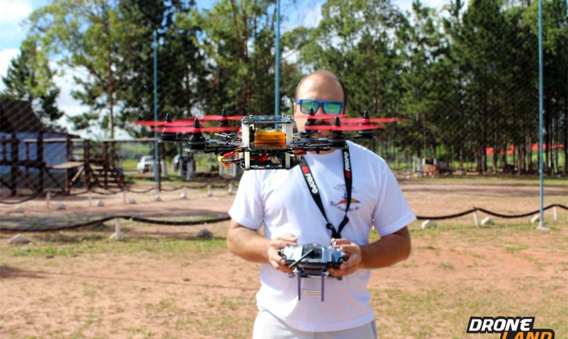 DroneLand mostrará seus serviços de filmagens e personalização de Drones