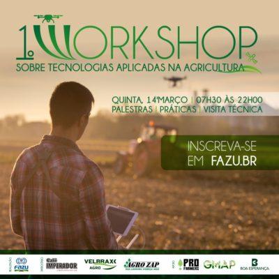 I Workshop sobre Tecnologias Aplicadas na Agricultura