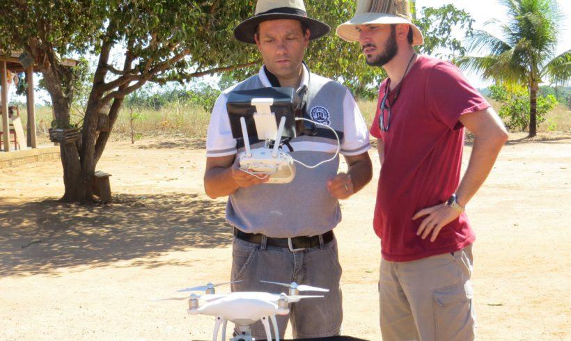 Drones são usados para avaliar uso e cobertura do solo na região de Alta Floresta