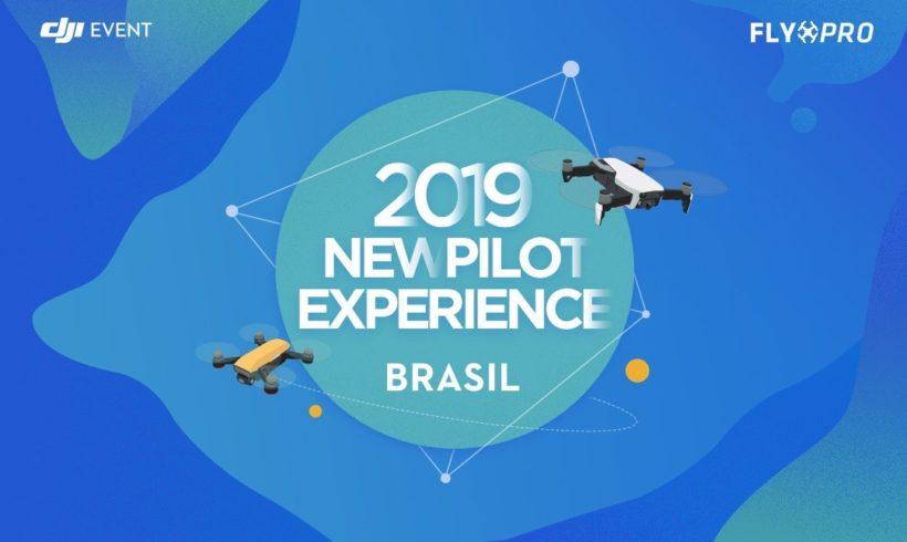 Primeira edição do ano do DJI New Pilot Experience no Brasil