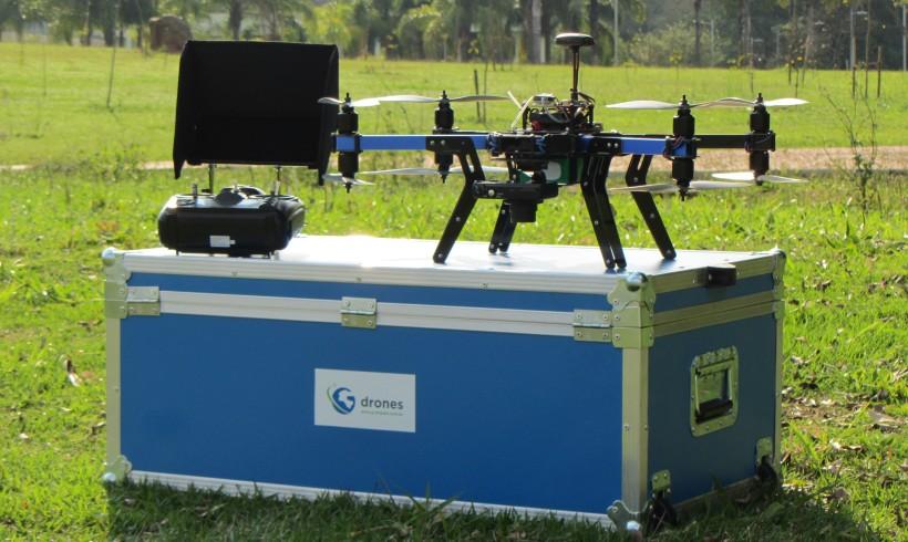G drones apresentará dois novos modelos de VANTs no DroneShow