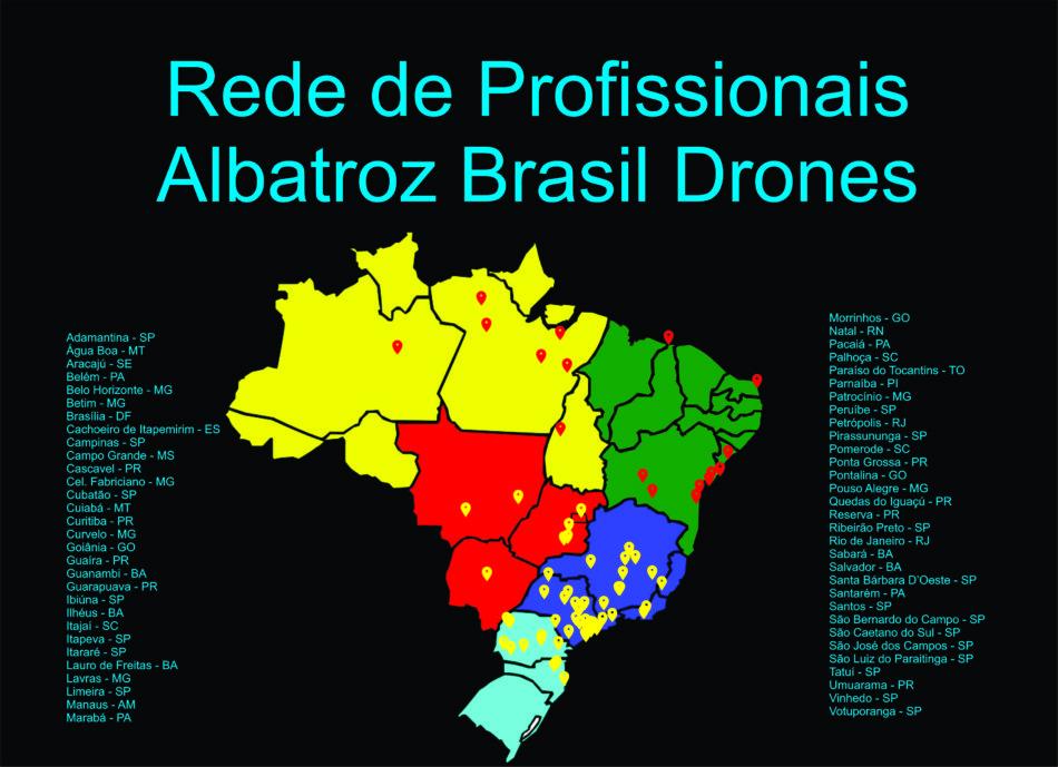 Mapa dos alunos NOV 2018 preto 950x689 Rede de Profissionais Albatroz Brasil Drones