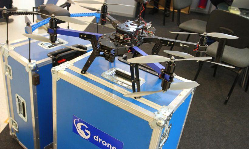 Gdrones confirma presença no DroneShow 2017