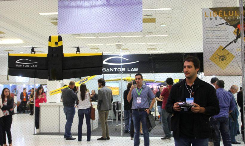 Santos Lab confirma presença no DroneShow 2017