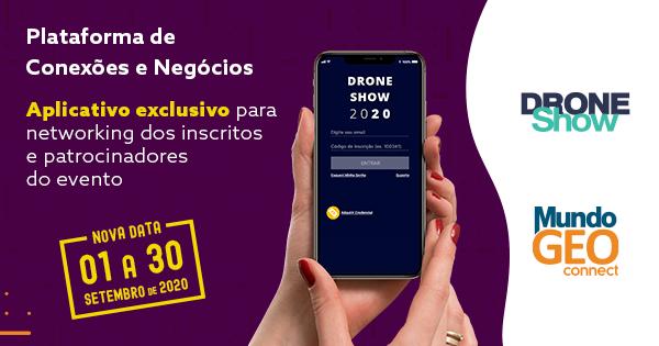 Passo-a-passo para acessar a Plataforma de Conexões e Negócios do MundoGEO Connect e DroneShow 2020