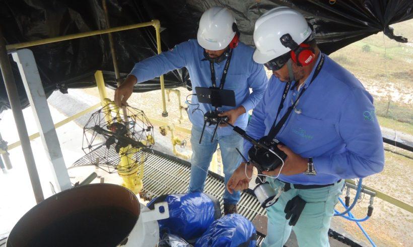 Case: Inspeção por Drones em tanques da indústria Petroquímica