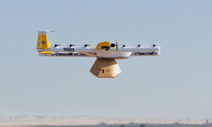 Empresa recebe aprovação para entregas com drones nos EUA