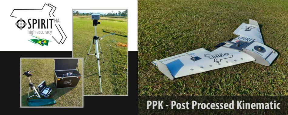 Recém lançado o Spirit HA – GNSS + PPK