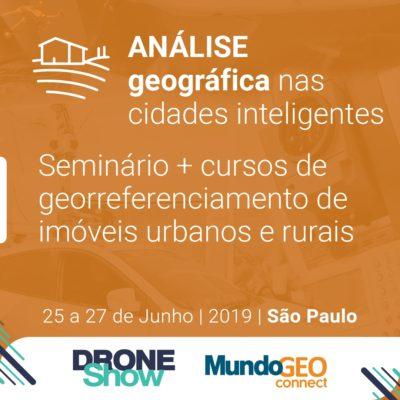 Seminário e Cursos abordam Smart Cities e Geo Urbano