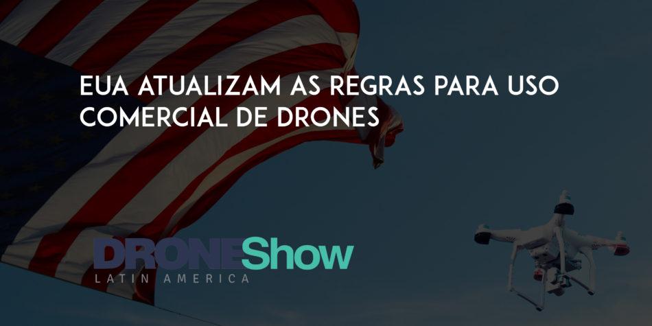 uso comercial de drones