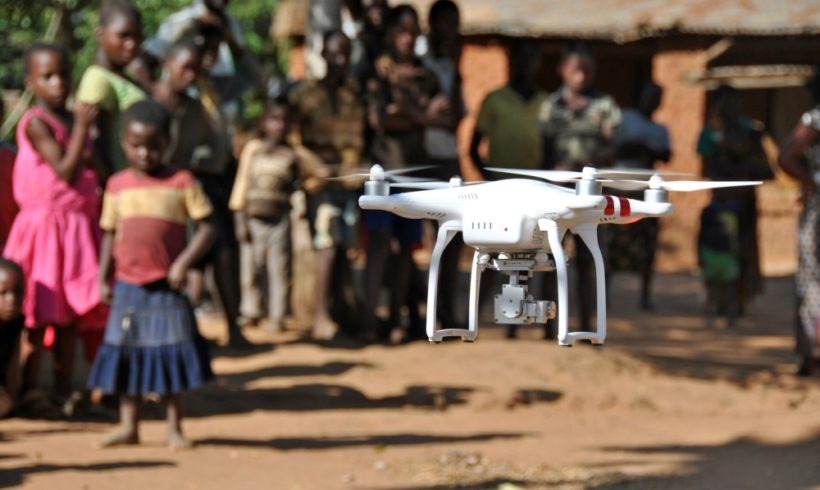 Unicef lança convocatória por projetos inovadores usando drones