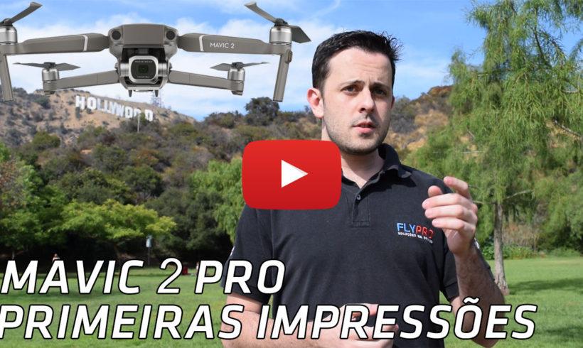FlyPro inicia a pré-venda do drone Mavic 2 no Brasil