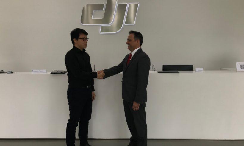 Allcomp passa a ser distribuidora oficial da DJI no Brasil