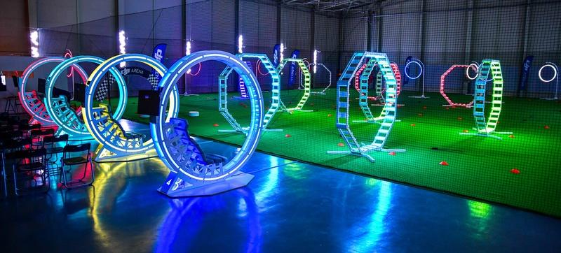 DJI inaugura arena de treinamentos e voos de Drones na Coreia do Sul