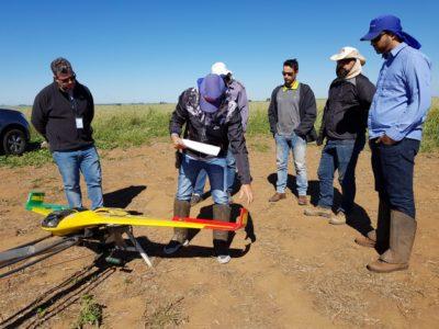 aula de piloto de drone