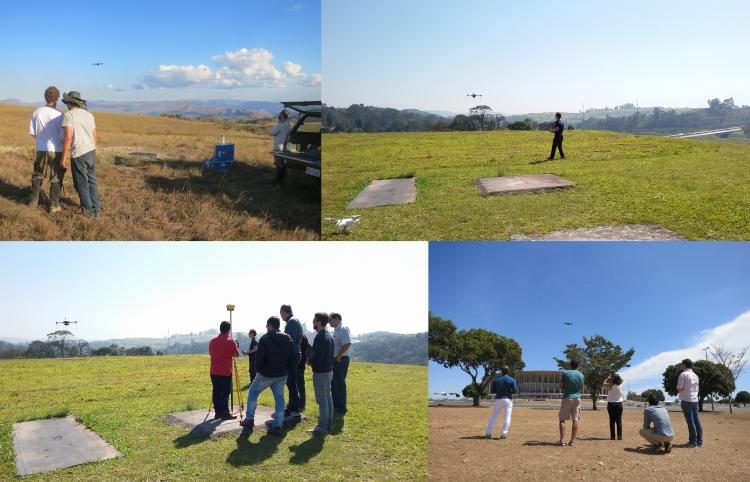 aula pratica de drone para mapeamento