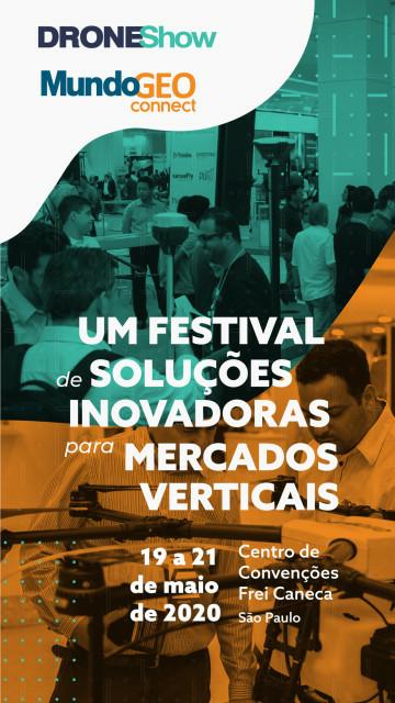 banner-lateral-2020 droneshow e mundogeo connect solucoes inovadoras para mercados verticais