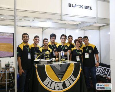 black bee na droneshow 2018