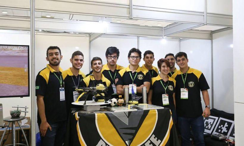 Black Bee representa o Brasil em competição mundial de drones