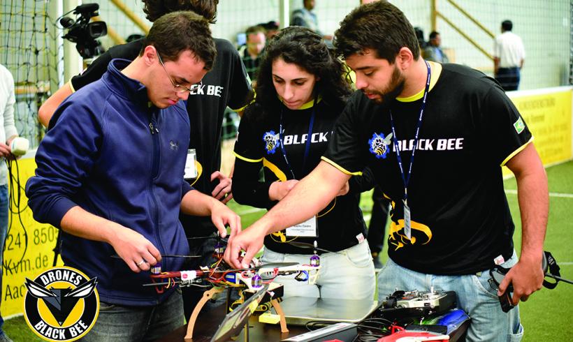 Equipe Black Bee Drones confirma presença no DroneShow 2016