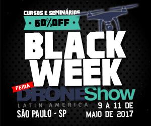 Black Week DroneShow: cursos e seminários com até 60% de desconto