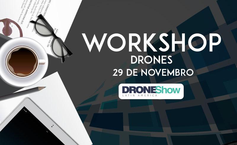 Workshop Online sobre Drones com inscrições abertas. Veja quem já está confirmado